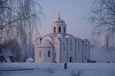 https://flic.kr/p/5Srdg2 | 04.01.2009--08.06.38 | Витебск, реплика (1990е) Благовещенской церкви начала XII в. // Vitebsk, modern replica of tne Annunciation Church of XII c.