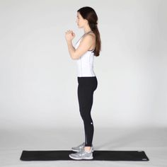 Learn more about air squats, commonly used in CrossFit workouts. Read about proper form, health benefits, and exercise routines. Benefits Of Squats, Pilates Benefits, Proper Squat Form, Get Abs Fast, Yoga Fitness, Health Fitness, Pelvic Tilt, Hips Dips, Air Squats