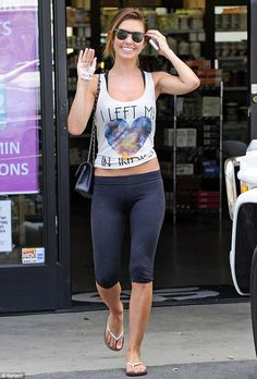 Audrina Patridge. lazy cute style.