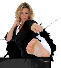 If you're looking to stay in shape, build confidence, or just want to learn to kick some ass. Check out our friends in Gresham, Dragon Brand Martial Arts. Female Martial Artists, Martial Arts Women, Teen Girl Poses, Martial Arts Workout, Karate Girl, Female Fighter, Female Supremacy, Gorgeous Feet, Female Feet
