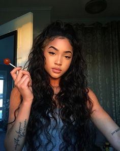 Pin By African Hairstyles On Favorite African Hairstyles In 2019 - baddie hairstyles thin hair baddie hairstyles medium Loose Curls Hairstyles, Cute Curly Hairstyles, Baddie Hairstyles, Mixed Girl Hairstyles, Mexican Hairstyles, Natural Hair Styles, Short Hair Styles, Edges Hair, Aesthetic Hair