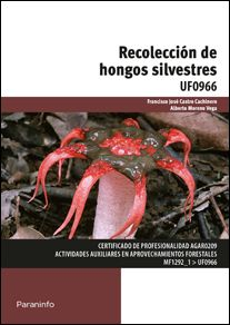 Portada del libro UF0966 - Recolección de hongos silvestres