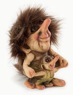 Image detail for -Nyform Trolls, Dancing Trolls, Troll Figurines, Scandinavian… German Mythology, Les Fjords, Kobold, Troll Dolls, Fairy Art, Leprechaun, Mythical Creatures, Fantasy Characters, Faeries