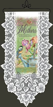 Mother's are the Blossoms wall hanging..