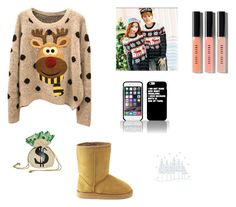 """Merry Christmas ⛄️"" by kylee2005 ❤ liked on Polyvore featuring Follow Me, Buy Seasons and Bobbi Brown Cosmetics"