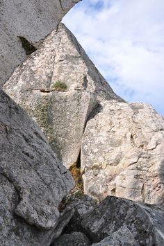 Composizione fotografica sui graniti galluresi - Loc. Lanciacarri - Luogosanto)