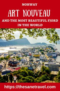 Four days itinerary for visiting Aalesund, the Art Nouveau town and Geiranger, the most beautiful fjord in the world. #travel #travelitinerary #Norway #Alesund #fjords #travelblog