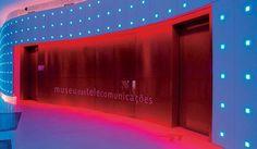 Museu das Telecomunicações Lighting Design, Desktop Screenshot, Neon Signs, Stage, Rio De Janeiro, Stage Design, Museums, Architects, February