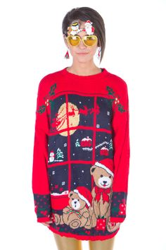 A beautifully tacky Christmas sweater from TheSweaterStore.com