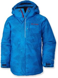 LLBean: Boys' Bean's Fleece-Lined Down Jacket | Gifts | Pinterest ...