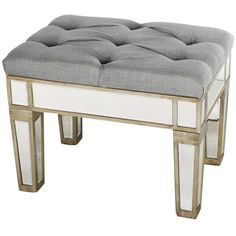 See this and similar benches - Shop for Nadia Mirrored Vanity Bench. Get free shipping at Overstock.com - Your Online Furniture Outlet Store! Get 5% in rewards...
