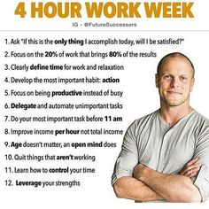 It's important to follow these points for success in life. #timferriss #entrepreneurship #successful #millionairemindset #successtips