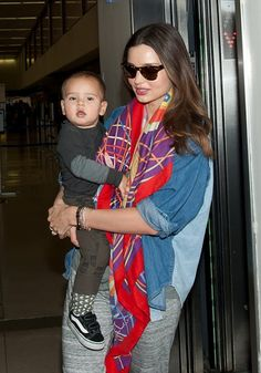 Miranda Kerr and Flynn. Celebrity Babies. Check out this blog for mums and kids!