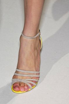 Givenchy Fall 2007 Couture nude sandals
