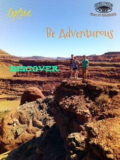Discover Moab with High Point Adventures.