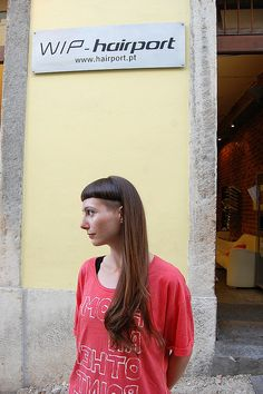 long with bangs | Flickr - Photo Sharing!