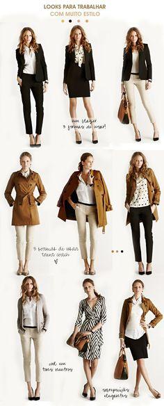 Looks para trabalhar cheios de estilo | We Fashion Trends