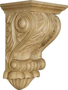Decorative Wood Corbels and Brackets: Solid, Decorative Wooden Corbels and Wood Brackets to add Beauty and Structural Support. Wooden Corbels, Wood Brackets, Shelf Brackets, Kitchen Counter Design, Cube Wall Shelf, Ceiling Medallions, Wooden Art, Architectural Elements, Christmas Decorations To Make