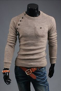 FREE SHIPPING PLEASE CHECK CHART FOR GOOD SIZE BEFORE ORDERING Gender: Men Sleeve Style: Regular Style: Casual Technics: Computer Knitted Material: Cotton Item Type: Pullovers Thickness: Standard