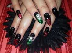 Halloween nail art ideas for 2013 that look dipped in blood