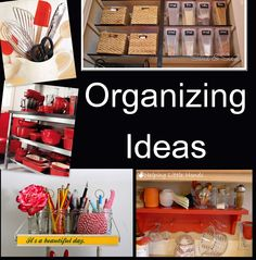 Red Hill General Store: Organizing your Home