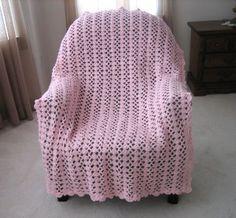 Pink Moscato Afghan   FaveCrafts.com