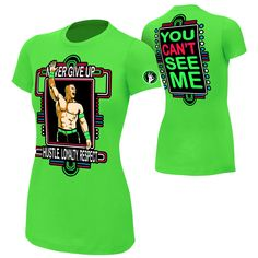 <p>John Cena is one of the most iconic superstars in WWE history.  He loves bright colors and it shows with this t-shirt! Get your latest John Cena attire and practice that 5-Knuckle Shuffle.</p><p>