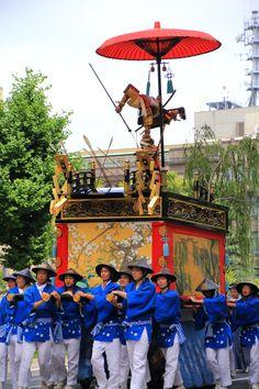 平家物語の宇治川の合戦を題材にした祇園祭の浄妙山