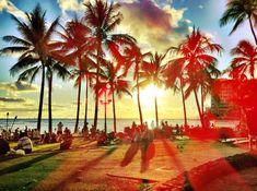 waikiki beach, oahu, hawaii.
