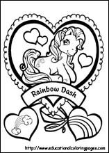 complicolor my little pony coloring page Printable pages and