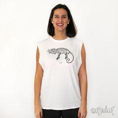 Camiseta camaleón - 20€