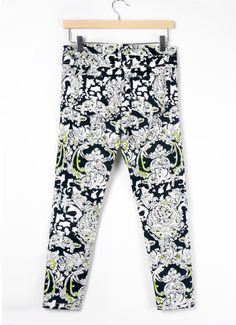#Floral Printed Casual Pants, play girl used only lol...