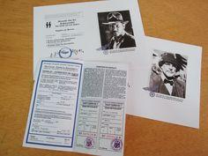 Pack Réplica Indiana Jones. Vuelo Zeppelin, Wanted flyer + billete