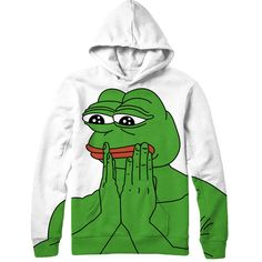Our Pepe The Frog hoodie is freaking awesome. This hoodie features 4chan…