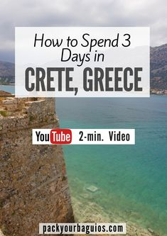 How to Spend 3 Days in Crete, Greece | Land Rover Safari Tour | Palace of Knossos | Archaeological Museum of Heraklion | Greece Travel | GDM Megaron | Castello del Molo (Koules) Venetian Fortress | Spinalonga Island | Greek food | YouTube Video | Pack Your Baguios