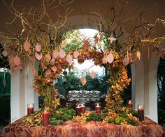 Presentation is everything! Set up a creative escort card table to make a big first impression.