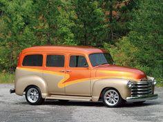 1950 Chevy Suburban 400ci