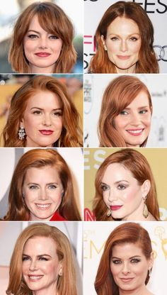 Natural or Not? Hollywood's Hottest Redheads |  InStyle.com