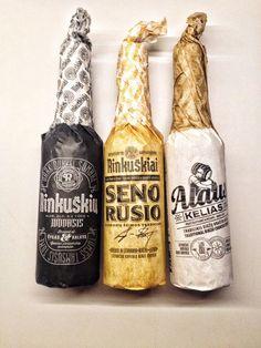 20 diseños creativos de botellas para inspirarte