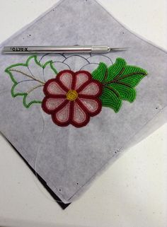 *X-acto Knife* for precision cutting Photo Credit: Beading Traditions Seed Bead Art, Seed Bead Crafts, Bead Embroidery Patterns, Beaded Embroidery, Native Beading Patterns, Native Beadwork, Native American Beadwork, Beading Projects, Beading Tutorials