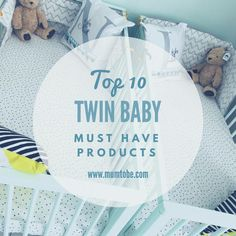 Must Have Twin Baby Products  #twins #twinbabies #twinproducts #twinmusthaves #twinbaby #twinnursery #twinpregnancy #itstwins