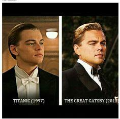 Leonardo DiCaprio, Titanic and Gatsby