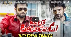 appatlo okadundevadu theatrical trailer nara rohit tanya hope