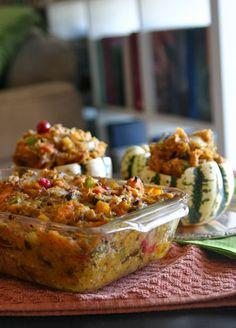 Paleo Thanksgiving Side - Mushroom and Pork Mashed Sweet Potatoes