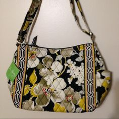 Vera Bradley On The Go New with tag On The Go in Dogwood   Adjustable shoulder strap  back zip pocket 2 small side pockets zipper closure inner 1 zip pocket and 3 slip pockets  No smoking or pets Vera Bradley Bags Crossbody Bags