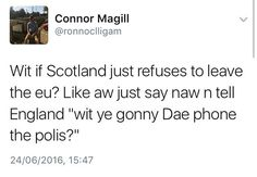 The 20 Funniest Scottish Tweets Of 2016