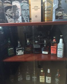 When Jack Daniels used to be life but you still collect it for old times sake . - #jackdaniels #jackdanielscollection #whiskey