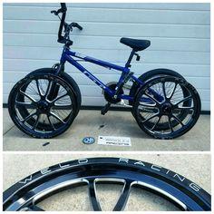 Weld wheels for a bmx bike for clay Millican pit bike