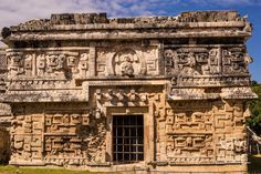 Monjas, Nunnery, Chichen Itza ruins, The Yucatan, Mexico Aztec Architecture, Ancient Architecture, Mayan Ruins, Ancient Ruins, Chichen Itza Mexico, Mayan Cities, Destinations, Archaeological Site, Cool Places To Visit
