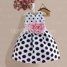 Girl's Doll Collar Princess Dress